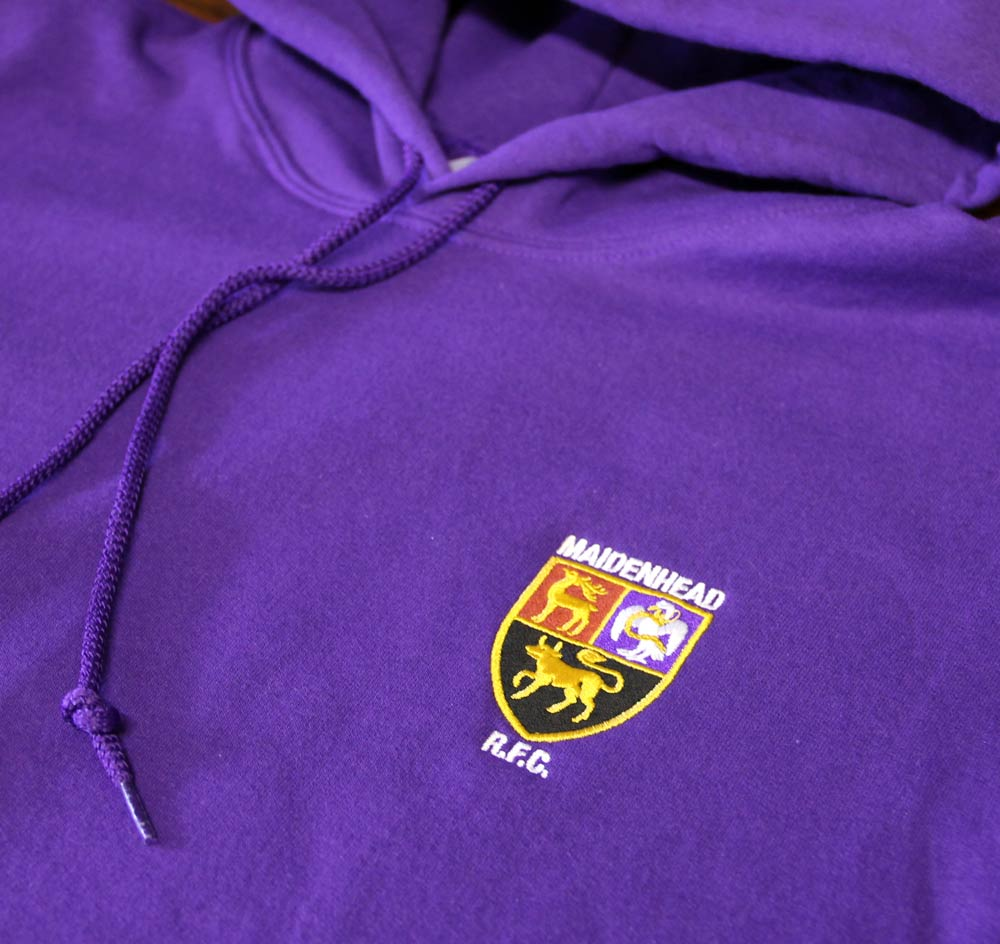 Embroidered Rugby Tour Hoodies