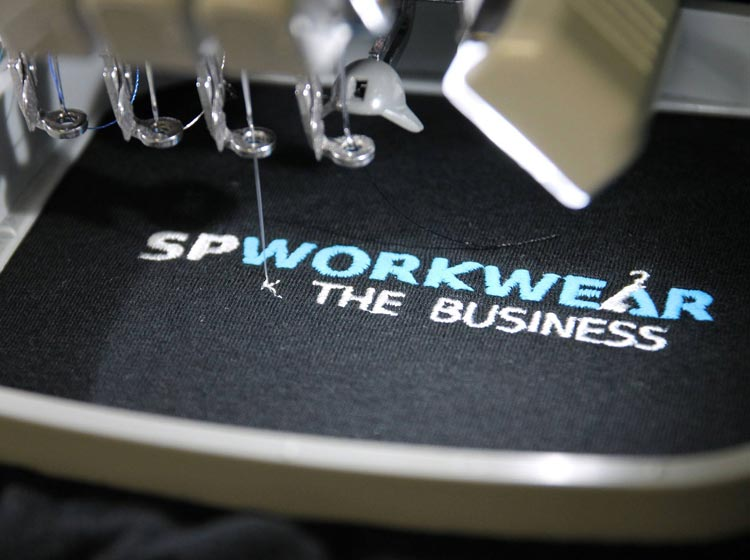 sp workwear embroidery
