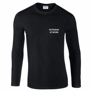 Mens Long Sleeve T-Shirt - Maidenhead Bridge Rotary
