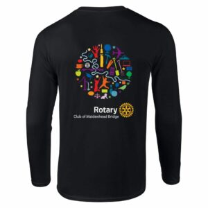 Ladies Long Sleeve T-Shirt – Maidenhead Bridge Rotary Club