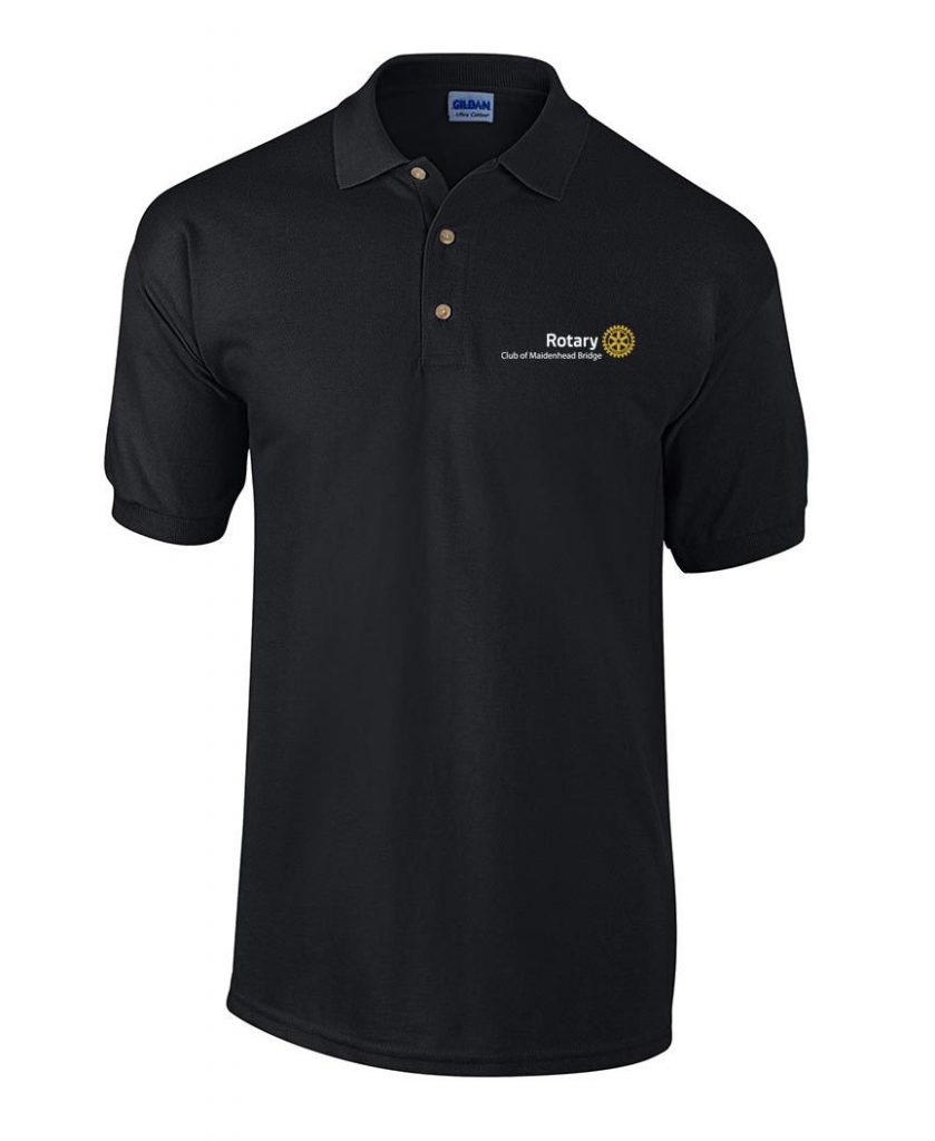 Polo Shirt Front Only - Maidenhead Bridge Rotary