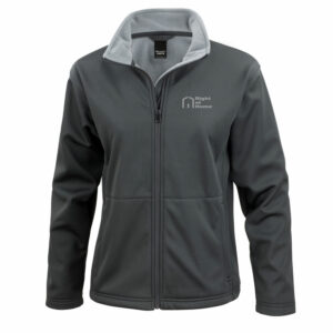 Right At Home Ladies Soft Shell Jacket – Black