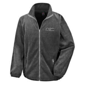 Right At Home Mens Fleece - Grey