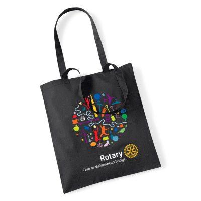 maidenhead bridge rotary club tote bag