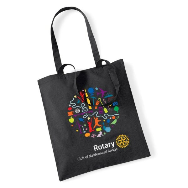maidenhead bridge rotary club tote bag
