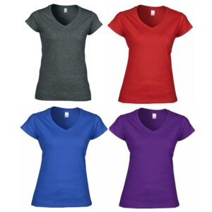 OUPS Ladies V Neck T Shirt