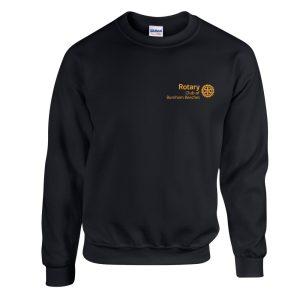 Black Sweatshirt – Burnham Beeches Rotary Club