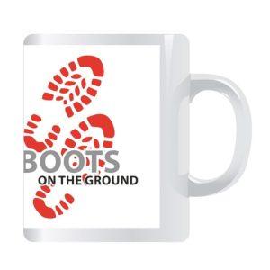 Boots On The Ground Mug