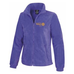 Ladies Fleece Jacket – Hungerford Rotary Club