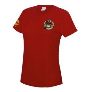 Tikki Training Ladies T Shirt