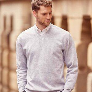 Russell Adults V Neck Sweatshirt – 272M