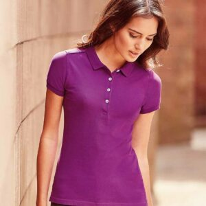 Russell Ladies Stretch Polo Shirt – 566F