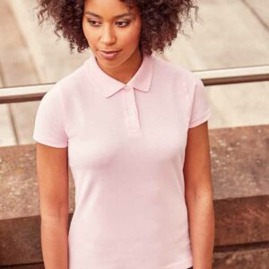 Russell Ladies Cotton Pique Polo Shirt – 569F