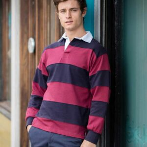 Front Row Sewn Stripe Rugby – FR8