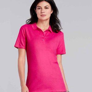 Gildan Ladies Softstyle Pique Polo Shirt – GD75