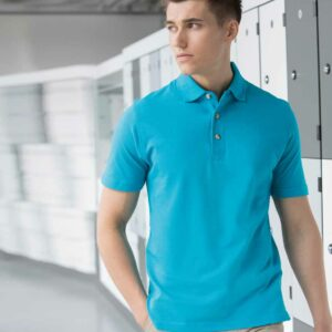Henbury Classic Heavy Cotton Pique Polo Shirt – H100