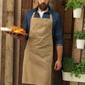 Premier Cotton Chino Bib Apron – PR132