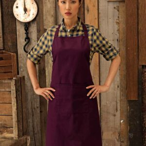 Premier Colours Pocket Bib Apron – PR154