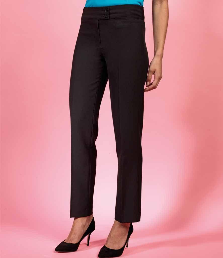 PR536Premier Ladies Iris Straight Leg Trousers