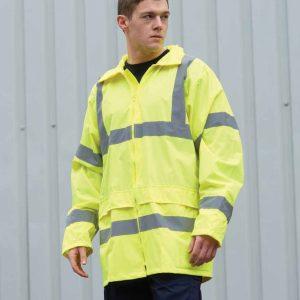 Portwest Hi-Vis Rain Jacket – PW011