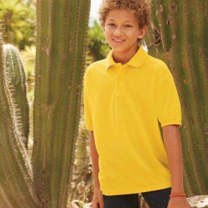 Fruit Of The Loom Kids Pique Polo Shirt – SS11B