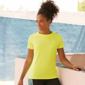 Fruit Of The Loom Lady Fit Performance T-Shirt – SS270