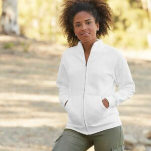 Fruit Of The Loom Lady Fit Sweat Jacket – SS79