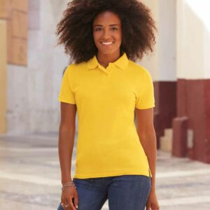 Fruit Of The Loom Ladies Pique Polo Shirt – SS86