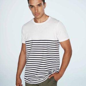 Front Row Breton Striped T Shirt – FR135