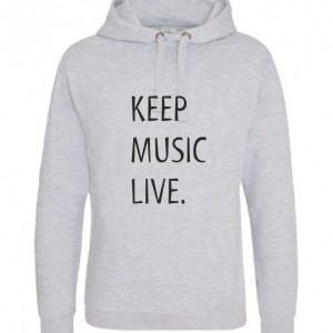 Concertini Keep Music Live Adult Hoodie