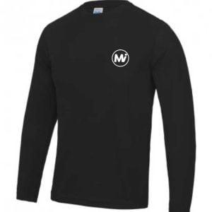 MiBody JC002 Mens Long Sleeve Training T-Shirt
