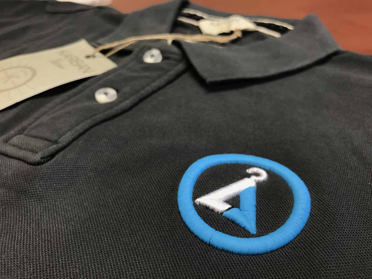 Embroidered polo shirts for work