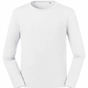 Russell Pure Organic Long Sleeve T-Shirt – 100M