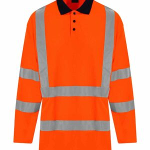 PRO RTX High Visibility Long Sleeve Polo – RX715