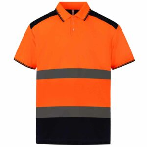 Yoko 2-Tone Short Sleeve Polo Shirt – YK017