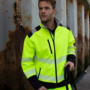 Result Printable Ripstop Safety Softshell – RS476