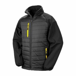 Result Black Compass Jacket – RS237