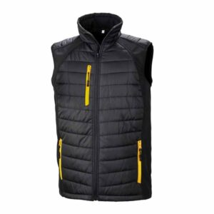 Result Black Compass Gilet – RS238