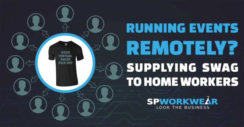 Send branded clothing to your remote workers