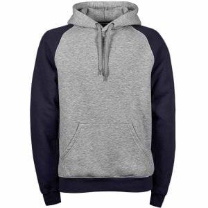 Tee Jays Two-Tone Hooded Sweatshirt – T5432
