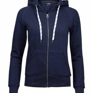 Tee Jays Ladies Fashion Full Zip Hooded Sweatshirt – T5436