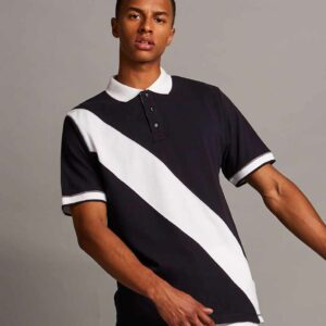 Front Row Diagonal Stripe House Polo Shirt – FR212