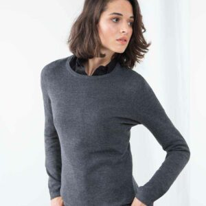 H728 Henbury Ladies Crew Neck Sweater