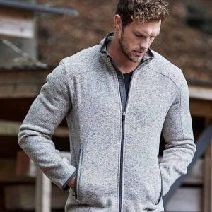 T9615 Tee Jays Knitted Outdoor Fleece Jacket