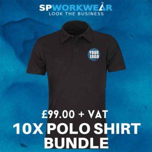 10 Polo Shirt Bundle