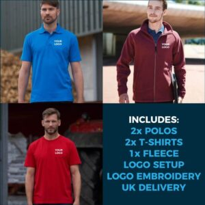 5pc Embroidered Workwear Package