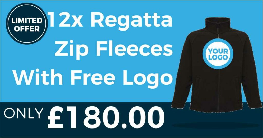 Regatta RG122 12pc Fleece Deal - Social