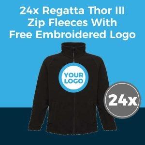 24x Regatta RG122 Fleece Deal