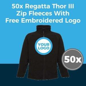 50x Regatta RG122 Fleece Deal