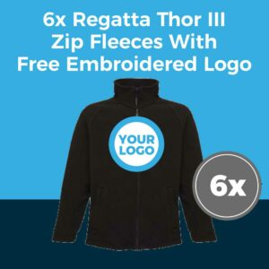 6x Regatta RG122 Fleece Deal
